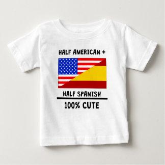 Tshirts 100% parcialmente espanhol bonito