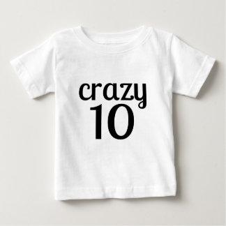 Tshirts 10 designs louco do aniversário