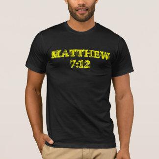 Tshirts 7:12 de MATTHEW