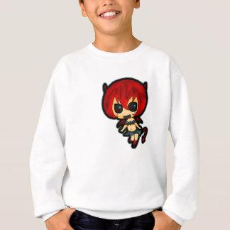 Tshirts A menina especial do diabo do Dia das Bruxas caçoa