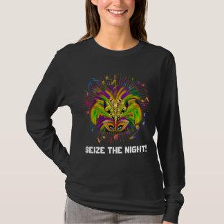 Tshirts A opinião escura do estilo da rainha do carnaval