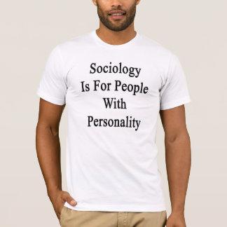 Tshirts A Sociologia é para pessoas com personalidade