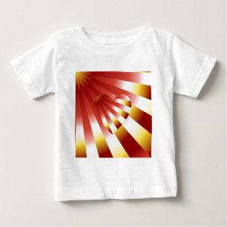 Tshirts AMOR em raios alaranjados e amarelos do DISFARCE -
