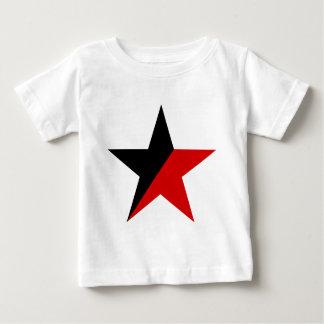 Tshirts Anarquismo preto e vermelho do