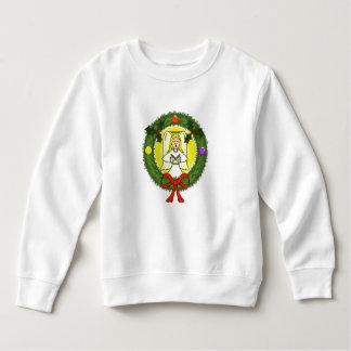 Tshirts Anjo na camisola da criança da grinalda