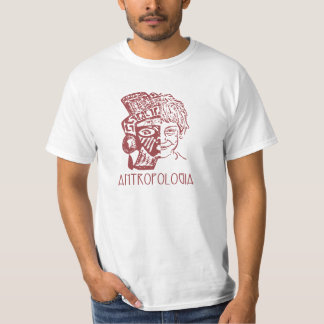 Tshirts Antropologia (Masculina/frente)