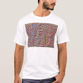 Tshirts Arte cura gravada estilo do VINTAGE