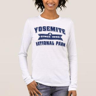 Tshirts Azul do estilo antigo de Yosemite