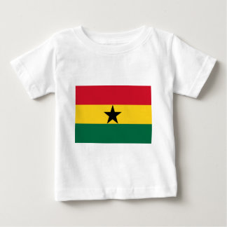 Tshirts Baixo custo! Bandeira de Ghana