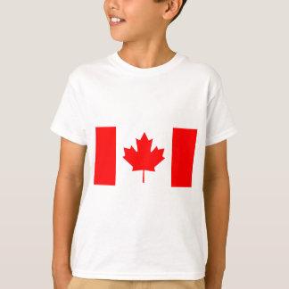 Tshirts Bandeira nacional de Canadá - Drapeau du Canadá