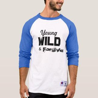 Tshirts Basebol novo, selvagem & perdoado T