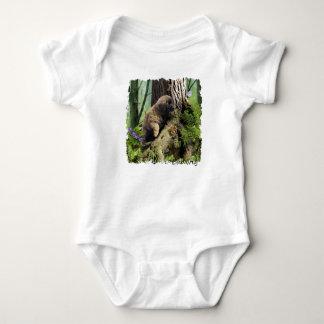 Tshirts Bebê Ludwig o Bodysuit do filhote de cachorro de