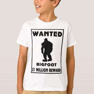Tshirts Bigfoot quis o poster
