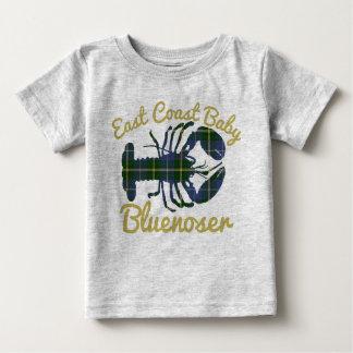 Tshirts Bluenoser de Nova Escócia da lagosta do bebê da