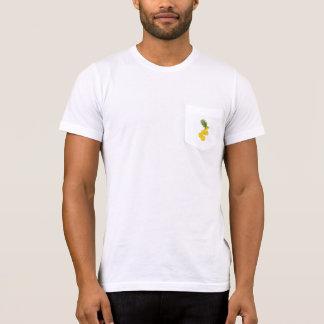Tshirts Bolso cortado do abacaxi