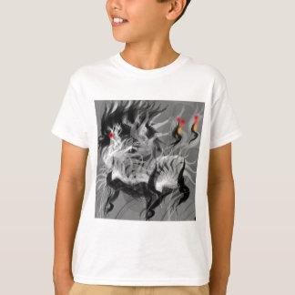 Tshirts Cão pequeno abstrato
