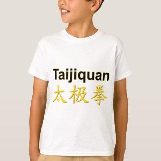 Tshirts Caráteres de Taijiquan (qui da TAI chuan)