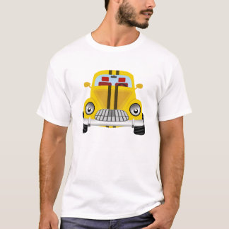 Tshirts Carro amarelo dos desenhos animados