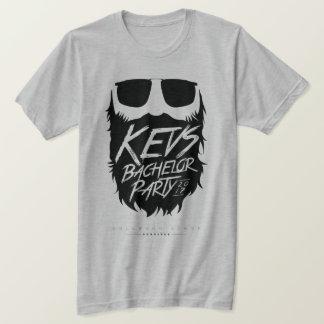 Tshirts Cinzento-Fantasma do despedida de solteiro de Kevs