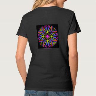 Tshirts Colorido Céltico-como o mandala.