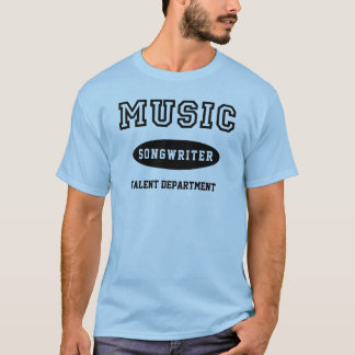 Tshirts Compositor da música para o departamento do