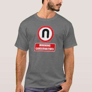 Tshirts CONSERVADORES DE ADVERTÊNCIA (volta de U)