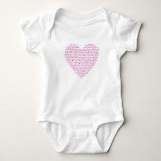 Tshirts Coração BabyWEAR de IMHM