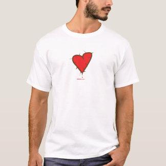 Tshirts Coração com espinhos