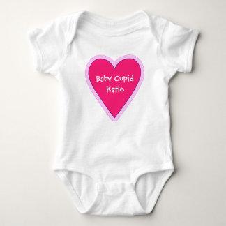 Tshirts Coração cor-de-rosa grande do dia dos namorados