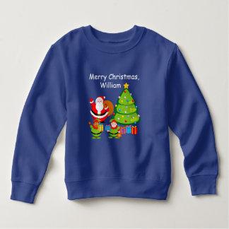 Tshirts Desenhos animados de Papai Noel que entregam