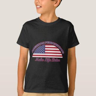 Tshirts Design americano dos pediatras