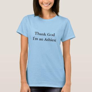 Tshirts deus do obrigado im um o mais athiest