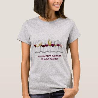 Tshirts Disposição de vidros de vinho