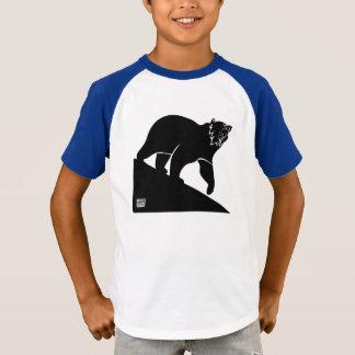 Tshirts Do urso a engrenagem dos miúdos do QUI para baixo