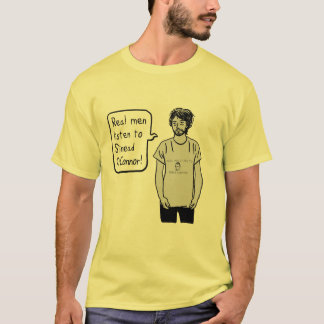 Tshirts Don Depresso: Os homens reais escutam Sinead