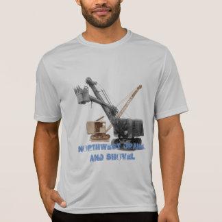 Tshirts ENGENHEIRO do FUNCIONAMENTO do guindaste noroeste