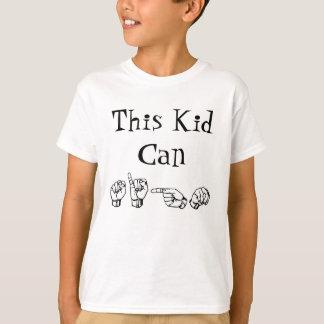 Tshirts Este miúdo pode assinar