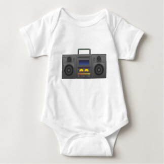 Tshirts estilo Boombox de Hip Hop dos anos 80