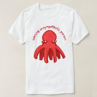 Tshirts estilo unsympathetic pequeno dos desenhos animados