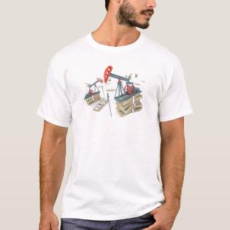 Tshirts Estratégias do homem do óleo para o sucesso