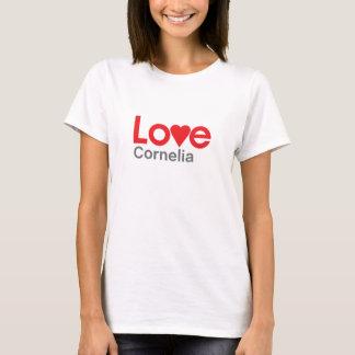 Tshirts Eu amo Cornelia