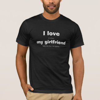 Tshirts Eu amo o T das peças do carro de G/F…