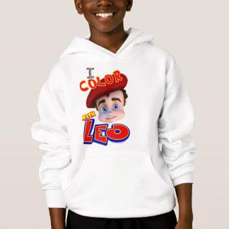 Tshirts Eu coloro com retrato de Leo