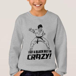 Tshirts Eu obtive um cinturão negro em louco