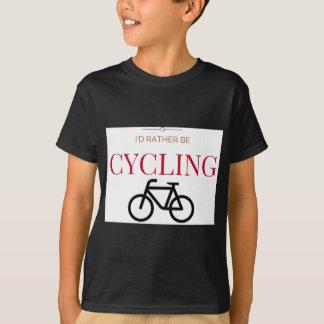 Tshirts Eu preferencialmente estaria dando um ciclo