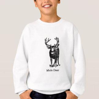 Tshirts Fanfarrão do troféu dos cervos de mula