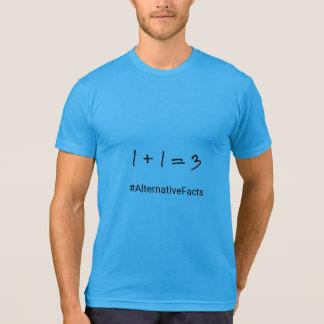 Tshirts Fatos engraçados do alternativo da matemática do