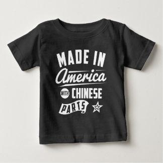 Tshirts Feito em América com peças chinesas