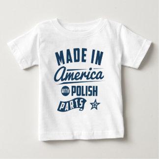 Tshirts Feito em América com peças polonesas