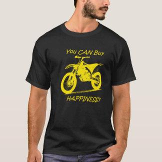 Tshirts Felicidade do comprar - amarelo no preto (Suzuki)